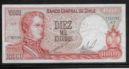 Chili - 10000 Escudos - Pick N°148 - TTB - Chile