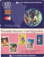 TARJETA TELEFONICA DE BOSNIA Y HERZEGOVINA. (517) - Bosnia