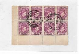 Francobolli 8 Nigeria One Penny Giorgio VI Anno 1940 - Nigeria (...-1960)