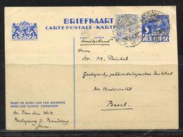 Niederl. Indien 1934  Postcard Nach Basel - Niederländisch-Indien