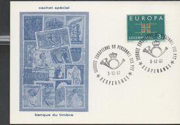 3267  Tarjeta Luxembourg 1967, Hesperange - Luxembourg