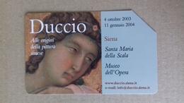 Scheda Telefonica DUCCIO - Siena - 2003 - Usata - Italia