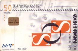 TARJETA TELEFONICA DE BOSNIA Y HERZEGOVINA. (522) - Bosnia