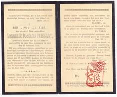 DP ZEH Kanunnik Deodatus Puissant ° Ronse 1846 Gent 1922 Lokeren Heiende Geraardsbergen Kaprijke Denderhoutem Merelbeke - Images Religieuses
