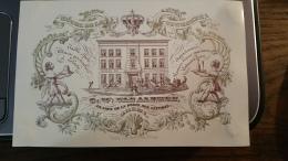 Carte Porcelaine (Porseleinkaart) - Breda - Hôtel De La Couronne - GW Van Alphen, En Face De La Poste Aux Lettres - Breda