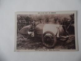 Cpa  Bol D'Or 1932  Pilote E. Chéret  Bloc Moteur Staub  Huile Kervoline Couru à St-Germain En Laye Circuit Des Loges - Le Mans