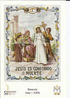 Gandia. Semana Santa. Estaciones Del Calvario De Jesús. Jesús Es Condenado A Muerte. - Saints