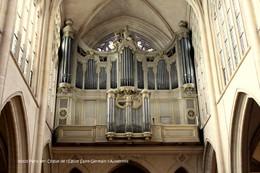 Paris 1er (75)- Orgue De L'Eglise Saint-Germain L'Auxerrois (Edition à Tirage Limité) - Arrondissement: 01