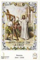 Gandia. Semana Santa. Estaciones Del Calvario De Jesús. Jesús Carga Con La Cruz. - Santos