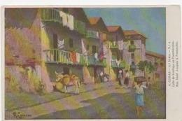 PAYS BASQUE - Illustrateurs - A. COMAS - Calle De Santiago En  Fuenterrabia - Tbe - France