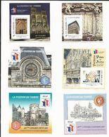 9 BLOCS - Passion Du Timbre - Congrès Philatéliques - FFAP