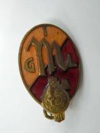 Vecchia Spilla Distintivo GIL Fascio Fascismo Old Pin Fascista Mussolini - Militari