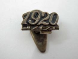 Vecchia Spilla Distintivo 1920 Fascio Fascismo Old Pin Fascista Anno - Militari
