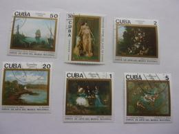 Cuba Série Complète Peintre Faivre  Vernet Le Brun  Boudin Clairin - Arts