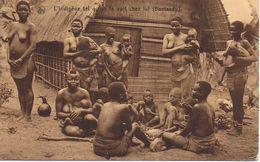 Cartolina  ( Bantandu )  Viaggiata 1928 - Congo Belga - Altri
