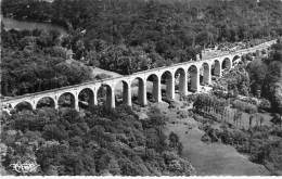 60 - COYE LA FORET : Vue Aérienne Du Viaduc De La Reine Blanche - CPSM Dentelée Noir Blanc Format CPA - Oise - Autres Communes