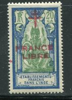 INDE- Y&T N°182- Neuf Avec Charnière * - Unused Stamps