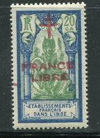 INDE- Y&T N°182- Neuf Avec Charnière * - Inde (1892-1954)