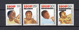 AFRIQUE DU SUD BOPHUTHATSWANA  N° 133 à 136  NEUFS SANS CHARNIERE COTE 2.25€ SANTE DES ENFANTS - Bophuthatswana