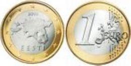 Estland  2011   1 Euro  Deze Munt Komt Uit De Rol    UNC Du Rouleaux  !!!!! - Estonia