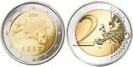 Estland  2011   2 Euro  Deze Munt Komt Uit De Rol    UNC Du Rouleaux  !!!!! - Estonia