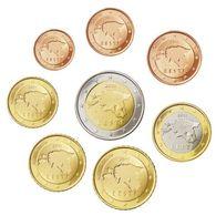 Estland  2011  De Volledige Set Van 1ct Tot 2 Euro . Deze 8 Muntjen Komen Uit De Rol    UNC Du Rouleaux  !!!!! - Estonia