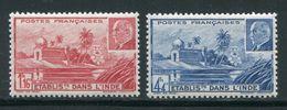 INDE- Y&T N°126 Et 127- Neufs Avec Charnière * - India (1892-1954)