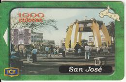 COSTA RICA - San Jose, ICE Tel Telecard, 05/01, Used - Landschappen