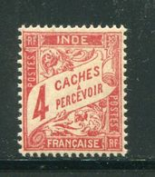 INDE- Taxe Y&T N°12- Neuf Avec Charnière * - Indien (1892-1954)