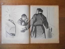 ALLEZ VOUS-EN! ON NE MEURT PAS ICI!,EH BIEN PERE ABRAHAM CA MARCHE.....IMAGES DETACHEES DE L'ASSIETTE AU BEURRE - Vieux Papiers
