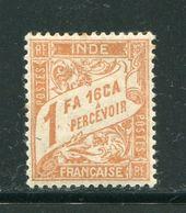 INDE- Taxe Y&T N°17- Neuf Avec Charnière * - Indien (1892-1954)