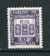 INDE- Taxe Y&T N°19- Neuf Sans Charnière ** - India (1892-1954)