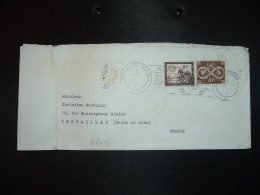 LETTRE TP 20c + TP 10c OBL.MEC.2 11 1961 UNITED NATIONS - New-York - Siège De L'ONU