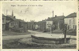Sugny -- Un Abreuvoir Et Le Haut Du Village.  (2 Scans) - Vresse-sur-Semois