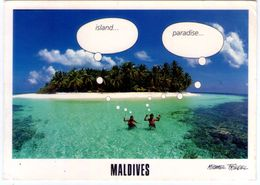 Maldives Island Paradise. VG. - Maldive