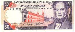Venezuela P.65  50 Bolivares 1998  Unc - Venezuela