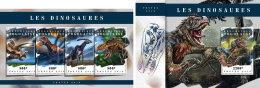 TOGO 2018 MNH** Dinosaurs Dinosaurier Dinosaures M/S+S/S - OFFICIAL ISSUE - DH1808 - Briefmarken