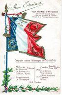 ETENDARD Du 60E REGIMENT D'ARTILLERIE - Régiments