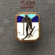 Badge (Pin) ZN006703 - Skiing - Winter Sports