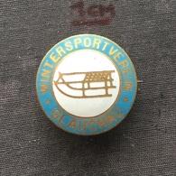 Badge (Pin) ZN006723 - Luge (Rennrodeln) Germany Glauchau Wintersportverein - Winter Sports