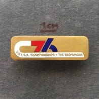Badge (Pin) ZN006727 - Skiing / Luge (Rennrodeln) USA Colorado Broadmoor National Championships 1976 - Winter Sports