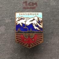 Badge (Pin) ZN006729 - Skiing Austria Innsbruck - Winter Sports
