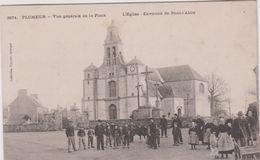 Finistère  : PLOMEUR :  Vue  De La  Place  , Env. De  Pont  L '  Abbé - Autres Communes