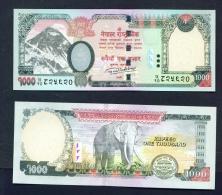 NEPAL  -  2016  1000 Rupees  UNC Banknote - Nepal