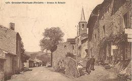 CPA-1930-43-GRENIER-MONTGON- AVENUE De BRIOUDE-TBE - Retournac