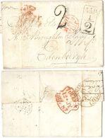 AR104) GRAN BRETAGNA - Entire Kensington To Edinburgh - 1815 - Grande-Bretagne