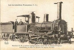 LOCOMOTIVES - MACHINE No 39 A ESSIEUX INDEPENDANTS 8 - Trains