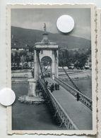 SEYSSEL PONT 74 Vierge Noire Aix Les Bains 1934  Snapshot Amateur - Places