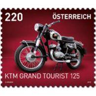 "Austria 2018 - KTM R 125 Grand Tourist, Serie ""Motorräder"" Mnh - 1945-.... 2de Republiek"