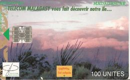 CARTE+ PUCE-100U--SC7-MADAGASCAR-3/99-VEGETATION SUD MALGACHE-100000Ex-TBE - Madagascar